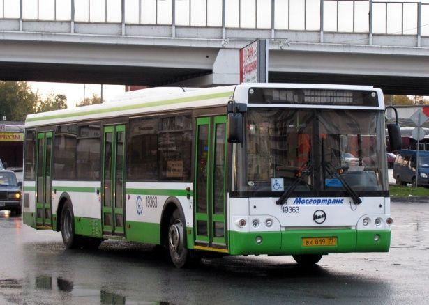 В схеме автобусного движения