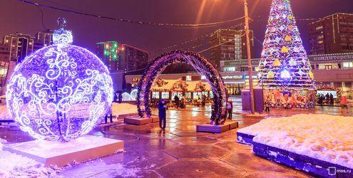 Зимние фестивали в столицеРФ посетили неменее 7-ми млн. человек