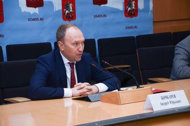 Глава Департамента возведения столицы провел пресс-конференцию